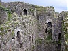 Beaumaris castle wales welsh uk inside view