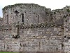 Beaumaris castle wales welsh uk side view